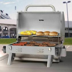 Best Tailgate Grill RV BBQ Small Gas Propane Portable Barbec