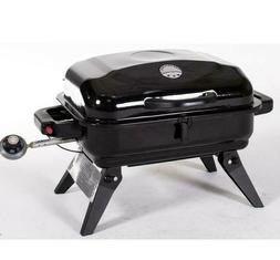Black 11000 BTU 220 Sq Portable Gas Grill Powered Standard 1