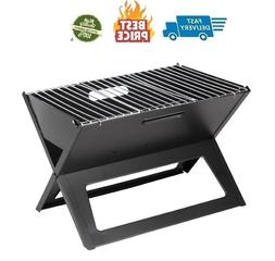 black notebook charcoal grill heavy duty 14