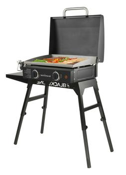 BlackstoneGas Griddle 22 Inch with Hood Legs and Bulk Adapte