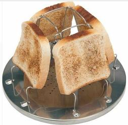 Camping Cooking Bread Grill Tool Slice 4 Toaster Fire Maker