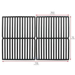 Uniflasy Cast Iron Grill Cooking Grid Grate Replacement Part