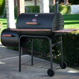 Char-Griller 1224 Smokin Pro 830 Square Inch Grill w/ Charco