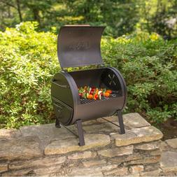 Char-Griller Side Fire Box Portable Table Top Charcoal Grill
