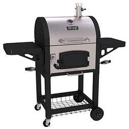 Charcoal Grill with Grates and Charcoal Door, Stainless Stee