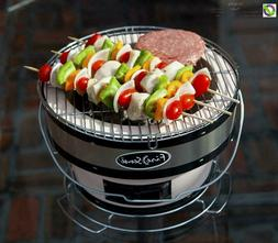 Charcoal Grill Small Table Top Cooking Grill Meat BBQ Adjust