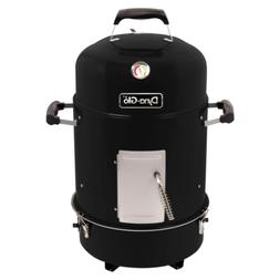Charcoal Grill Smoker Compact 19 in. Backyard Outdoor Patio