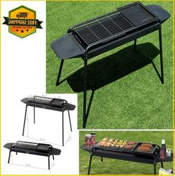 Charcoal Stove Grill Outdoor BBQ Accessories Black Barbecue