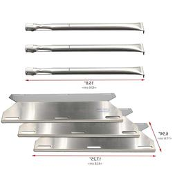 Charmglow Gas Grill Stainless Steel Burner + Heat Plates Rep