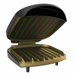 George Foreman Classic Plate Grill GR136B 2-Serving Pannini