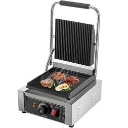 Commercial Electric Contact Press Grill Griddle BBQ Panini S