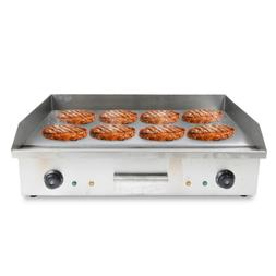 Commercial Electric Food Griddle Grill Countertop Flat Top B
