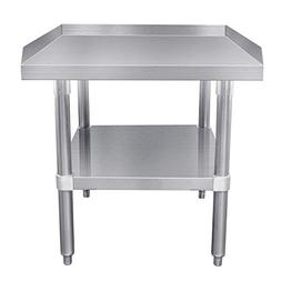 "Commercial Equipment Stand Table,MIXRATE ATSE-2824 24"" Stain"