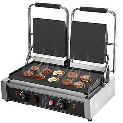 Commercial Panini Press Grill Electric Grill Griddle 3600W D