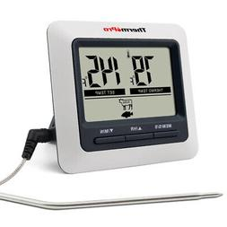ThermoPro Digital Meat Cooking Thermometer & Timer Alarm for