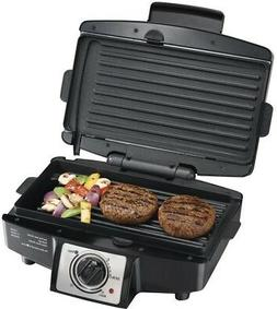 Hamilton Beach Easy-Clean Indoor Grill Model 25332, 1 ea