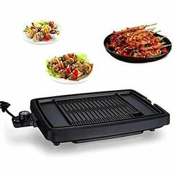 Electric Contact Grills Reversible Griddle With Removable No