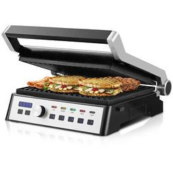Electric Grill 1500W LCD Touch Display&Removable Plates Non-