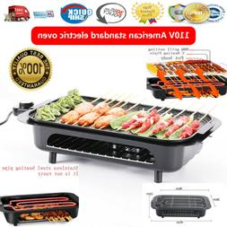 Electric Grill Portable Smokeless Non-Stick Cooking BBQ Grid