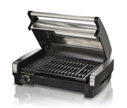 Hamilton Beach Electric Smokeless Indoor Searing BBQ Grill w