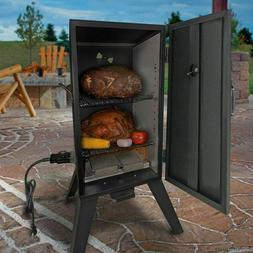 Electric Smoker Grill Outdoor Meat Cooker Wood Smoke Digital