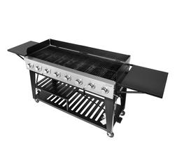 Royal Gourmet Event 8-Burner BBQ Propane Gas Grill with Cove