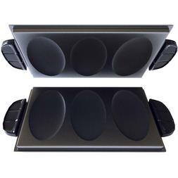 Evolve Non Stick Indoor Grill Omelet Accessory Plates Cool T