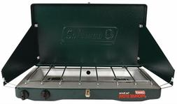 Coleman Gas Camping Stove Grill Classic Propane Stove With 2