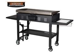 Gas Grill Outside Outdoor Stainless Steel Flat Top Propane 4