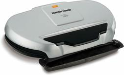 George Foreman Classic Electric Plate Grill GR144, 144-Squar