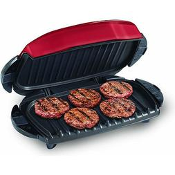 George Forman Red Next Grilleration Electric Grill, Indoor C