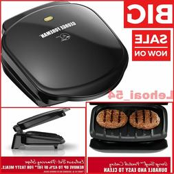 George Foreman GR10B 2-Serving Classic Plate Electric Indoor