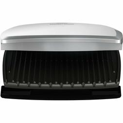 George Foreman GR390FP 144 sq in 9 Serving Classic Plate Gri