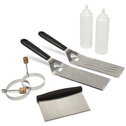 Griddle And BBQ Kit Accessory Frying Pan 2 Professional Spat