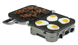 Cuisinart Griddler 5-in-1 Contact Grill Panini Press Cheese
