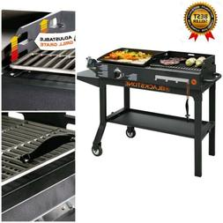 Grill BBQ Griddle and Charcoal Blackstone Duo Flat Top Gas O