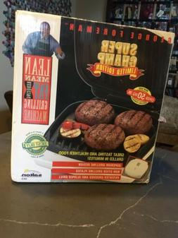 George Foreman Grill Super Champ Edition New In Box