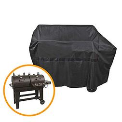 iCOVER 65 Inch 600D Heavy-Duty Water Proof Black Canvas BBQ