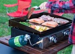Hibachi Grill Portable Flat Top Outdoor Cooking Griddle BBQ