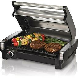 Indoor Grill Smokeless Electric Non Stick Portable Cooking B