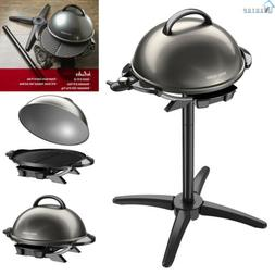 Indoor Outdoor Electric Grill Non Stick 15 Serving BBQ Barbe