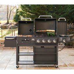 Infrared Gas Charcoal Grill Combo Commercial BBQ Set For Out