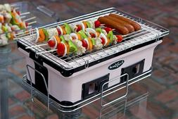 japanese yakitori grill bbq charcoal grill clay