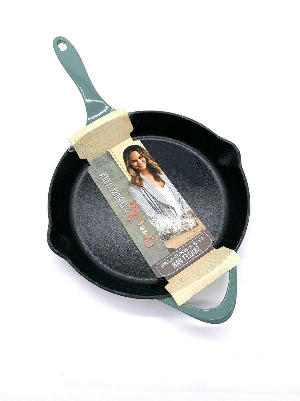 11 enamel skillet pan oven and grill