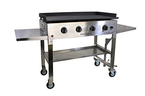 """Blackstone 1560 36"""" SS Griddle Cooking"""
