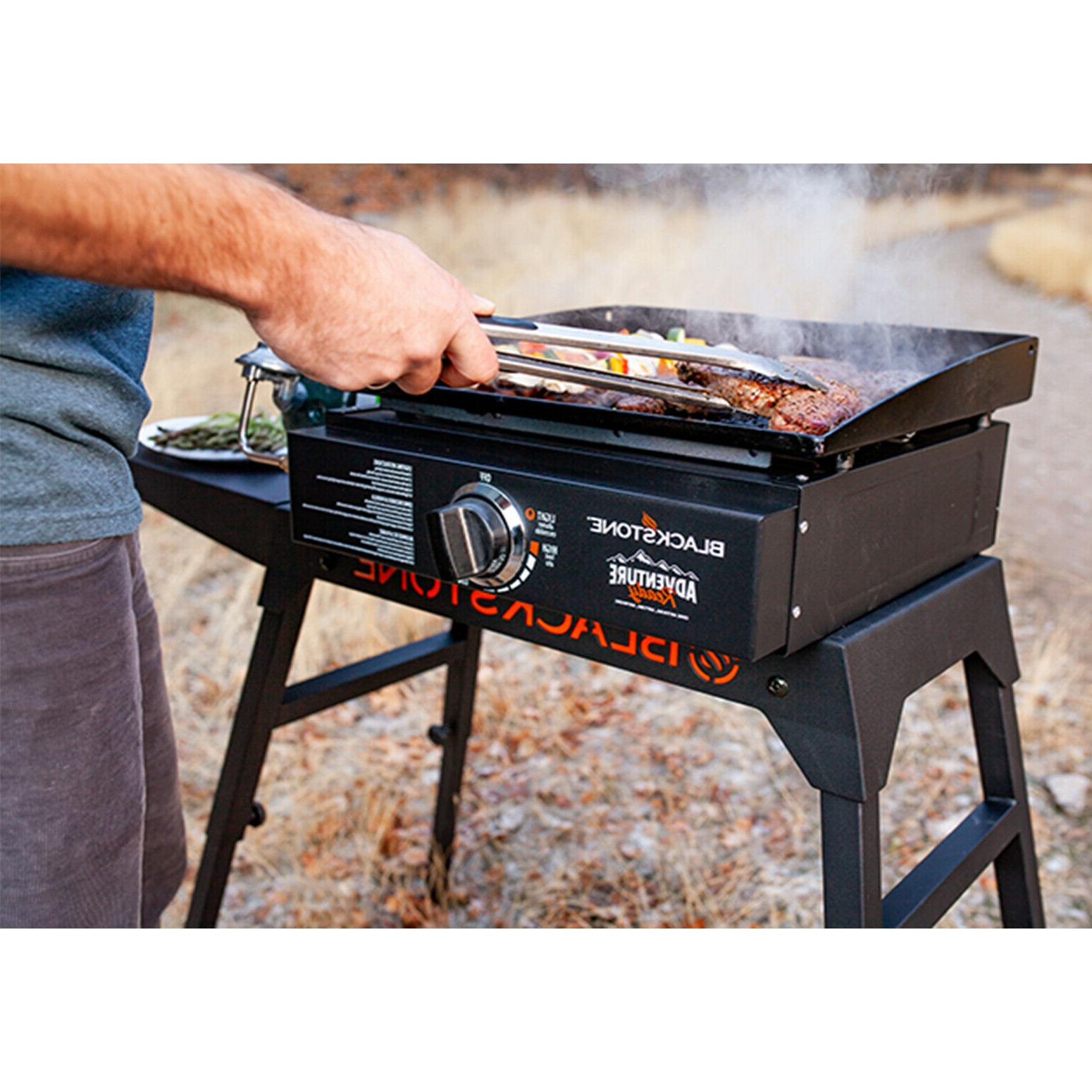 Blackstone 17 In Table Top Portable Stainless Cooking Camping