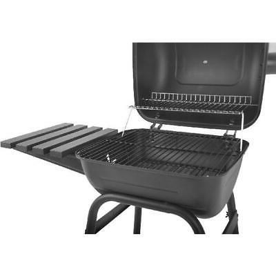 """Outdoor 26""""Charcoal New Mini Barrel With Shelf Barbecue"""