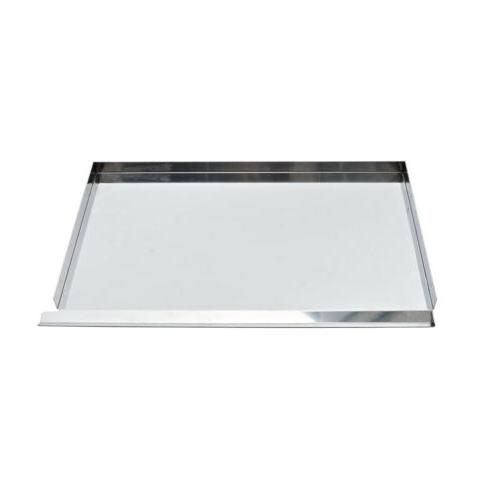 28 inches stainless steel flat top gas