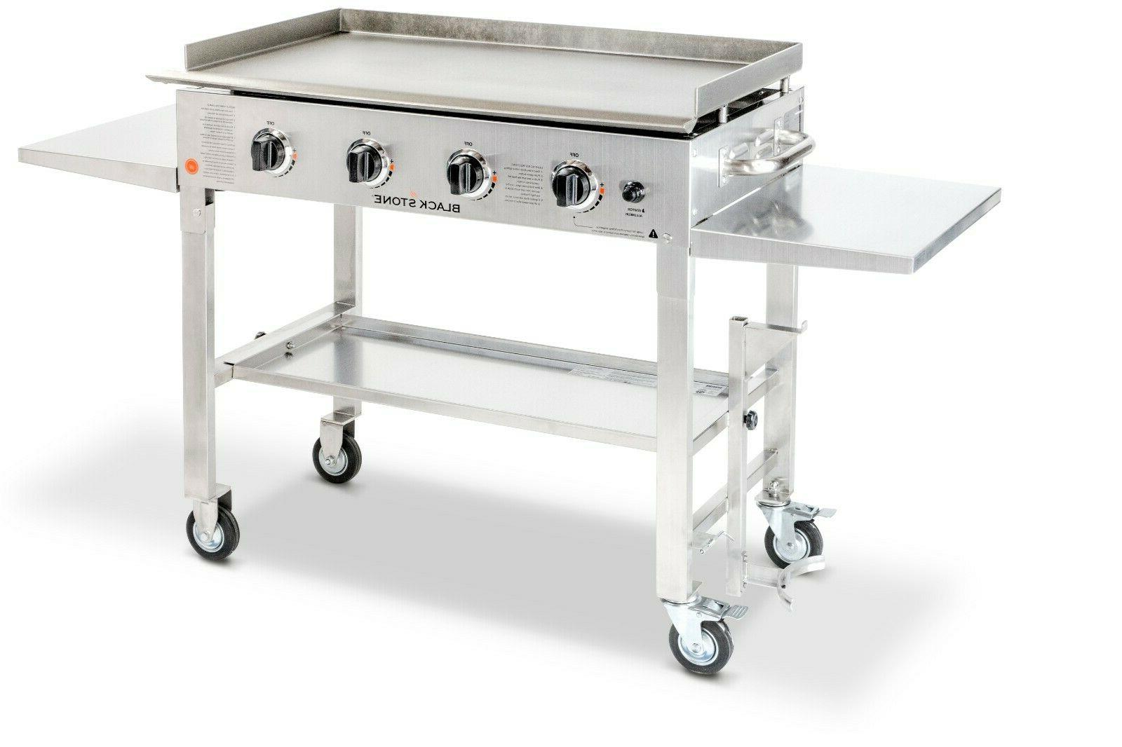 36 outdoor flat top gas grill griddle