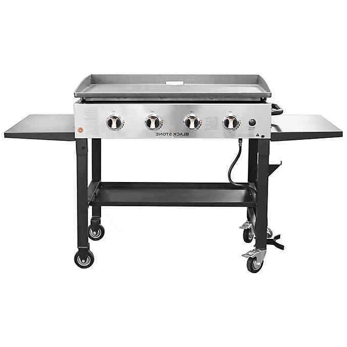 Blackstone Gas Steel Barbecue Cooking